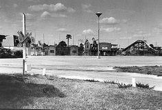 Entrance to Petticoat Junction amusement park, Panama City Beach, Florida