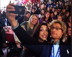 Jeff Seidel: Meryl Davis, Charlie White stop at Plymouth Salem to meet fans, talk 'Dancing With the Stars'