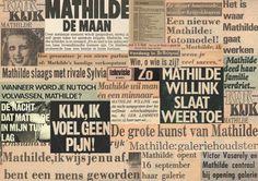 'Mathilde, Muze, Mythe, Mysterie' - The biography about Mathilde Willink by Lisette de Zoete - Collage: Lisette de Zoete.