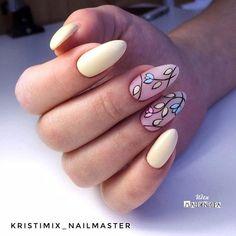 Nail art Christmas - the festive spirit on the nails. Over 70 creative ideas and tutorials - My Nails Yellow Nails Design, Yellow Nail Art, Cute Nails, Pretty Nails, Nail Decorations, Nail Art Hacks, Flower Nails, Cool Nail Designs, Perfect Nails