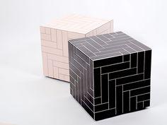 Parquet Cubique by Benjamin Hopf
