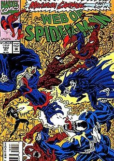 Web of Spider-Man #102 July 1993 Maximum Carnage Part 6 of 14 @ niftywarehouse.com