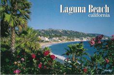 laguna beach california | POSTCARDS AND COVERS: Laguna Beach. California. Thank you Madison!!