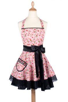 Diy une robe tablier vintage pour petite fille filles for Tablier de cuisine pour petite fille