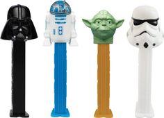 Star Wars Pez distributeur avec deux REFILS (vendu à l'unité)