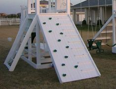 RuffHouse Vinyl offers playground accessories and playset accessories for your ruffhouse playsystem. Playground Accessories, Swing Set Accessories, Climbing Wall, Rock Climbing, Outdoor Play, Outdoor Spaces, Gazebo, Garden Design, Platform