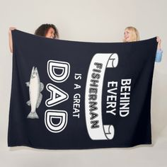 Shop Father's Day Fishing Great Dad Fleece Blanket created by TheShirtBox. Personalize it with photos & text or purchase as is! Diy Father's Day Gifts From Daughter, Diy Gifts For Dad, Daddy Gifts, Grandpa Gifts, Gifts For Father, Fathers Day Gifts Fishing, Fathers Day Crafts, Diy Father's Day Cards, Gift Guide For Men
