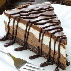 Chocolate Cheesecake Cake Dessert Recipe cheesecake food