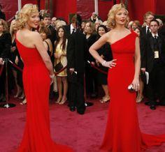 vestidos de um ombro so vermelho