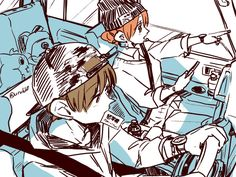 沖神 Gintama, Okikagu, Manga, Art Sketches, Otaku, Anime Art, Inspiration, Anime Stuff, Ship