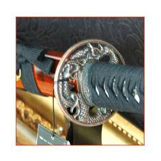Samurai Blade GANGHO blade Stand Pocket set Japanese Sword antique Kendo ninja #KZZANG