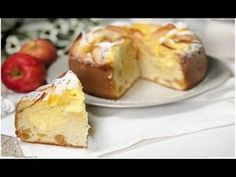 TORTA DI MELE E CREMA PASTICCERA | RICETTA SENZA BURRO SENZA OLIO - YouTube French Toast, Food And Drink, Baking, Breakfast, Desserts, Recipes, Youtube, Savory Snacks, Pastries