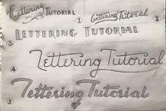 Lettering Tutorial, un site pour les fans de lettering                                                                                                                                                      Plus