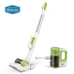 Dibea C01 Cordless 2-in-1 Handy Vacuum Cleaner Upright  LED Lamp 7Kpa Vacuum Suction Dust Collector Household Stick Aspirator