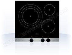 Plaque de cuisson induction, boutons rotatifs