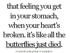 So my musical is about my life, and my life is a lot about heart breaks. So this fits.