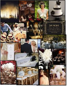 gatsby wedding ideas | ... : http://blog.theknot.com/2013/05/10/great-gatsby-wedding-ideas