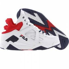 Fila Men The Cage (white / fnavy / fred) - $75.00
