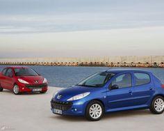 Peugeot 206 Bilder. Der Meistverkaufte Peugeot überhaupt