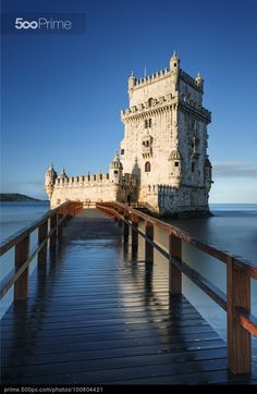 Tower of Belm Lisbon Portugal - stock photo