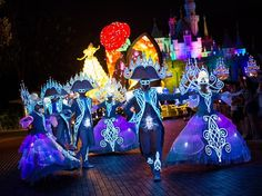 Paint the Night parade premieres at Hong Kong Disneyland illuminating the park with fully LED, interactive entertainment - Beauty and the Beast