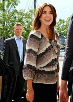 19 June 2014 - Princess Mary attends a summit in Copenhagen