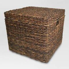 Target Storage Trunk New Wicker Large Storage Trunk  Dark Global Brown  Threshold™  Target