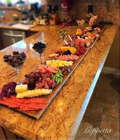 charcuterie board Custom Boards made to your specifications! As long as 5 feet! Shipped anywhere in the USAThese boards are made to order and can be ready in 5 to 7 days. This pictur Charcuterie Recipes, Charcuterie Platter, Charcuterie And Cheese Board, Cheese Boards, Cheese Board Display, Holiday Appetizers, Appetizer Recipes, Dessert Recipes, Fall Recipes