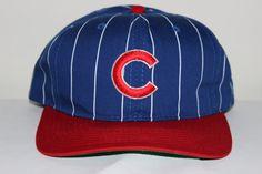 f9ae72a606a Vintage Chicago Cubs STARTER MLB Snapback Hat