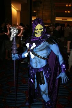 Skeletor, awesome costume!