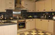 Limed Oak Kitchen Cabinets   Google Search