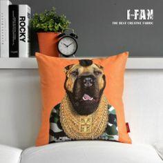 """Mr.Tee Inspired Throw Pillow Case Animal Velvet Home Cushion Cover Sham 18""""x18"""""""
