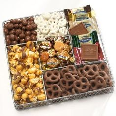Deluxe Chocolate and Nut Collection Gift Basket: http://www.amazon.com/gp/product/B003OP8M9O?ie=UTF8=1789=B003OP8M9O=xm2=wellbea-20