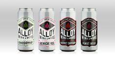 Alloy Wine Works — The Dieline - Branding & Packaging Design