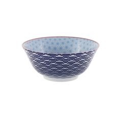 Discover the Tokyo Design Studio Starwave Bowl - Light Blue/Dark Blue at Amara