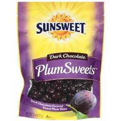 Sunsweet, Plums Sweets, Dark Chocolate Covered Prunes, 6oz Bag (Pack of 6) for only $42.97 #stand #up #pouches for more information visit us at  www.coffeebags.co.za