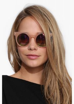 Frankie Quay Sunglasses in Pink//