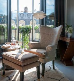 Фото из статьи: Жан-Луи Денио: потрясающие интерьеры нового отеля в Париже
