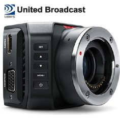 #Blackmagic Design introduces Micro Studio Camera 4K - The world's smallest Ultra HD live studio camera! It gives full Ultra HD resolution that can be used in HD and #UltraHD video format #StudioCamera #MicroCamera #HDResolution #Filmshooting #filming #videoshooting #UBMS #Dubai