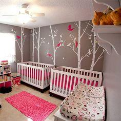 nursery storage ideas | DIY ideas for decorating a nursery for twins