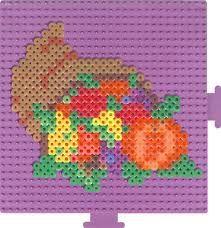 Thanksgiving Cornucopia - hama beads Perhaps for an exclusive seasons pack