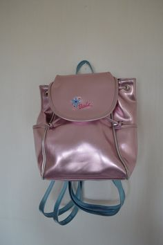 Metalic pink, shine, backpack, frosted pink, pastel goth, accessories, soft grunge, nu goth