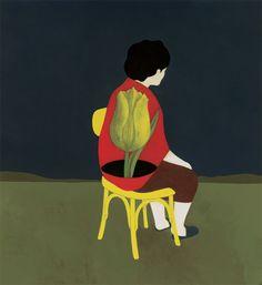 """simone rea illustratore: """"La casa"""" testo di Cosetta Zanotti"""