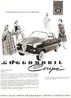 Autowerbung 50er