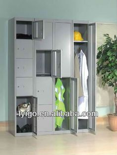 Two Tone Kids Locker Furniture Gym Sports Clothes Toys Shoes Storage New |  Kids Locker, Lockers And Mudroom