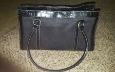 Black Satchel Handbag with Animal Print | Clothing, Shoes & Accessories, Women's Handbags & Bags, Handbags & Purses | eBay!