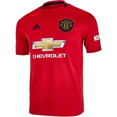 Shop for the Kids adidas Manchester United Home Jersey right now at SoccerPro! Ronaldo Soccer, Messi Soccer, Nike Soccer, Soccer Cleats, Cristiano Ronaldo, Soccer Sports, Soccer Girl Problems, Shirts, Sneakers