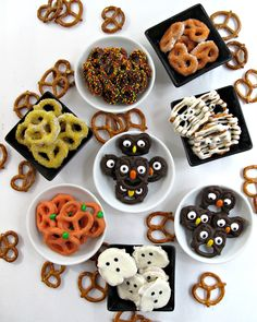 A pumpkin. A ghost. An owl. A mummy. These adorable Halloween Pretzels are easy, fast, and fun to make. Halloween is tomorrow? No problem. These chocolate dipped cuties can be created in no time and are guaranteed to spread smiles. I have two adult children. From the time they were teeny tiny, they have been...Read More »