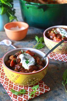 The Noshery | Moroccan Lamb Stew | http://thenoshery.com