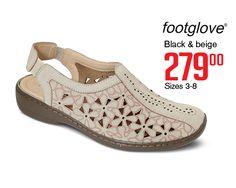 Footglove comfort shoes Comfortable Shoes, Beige, Lady, Comfy Shoes